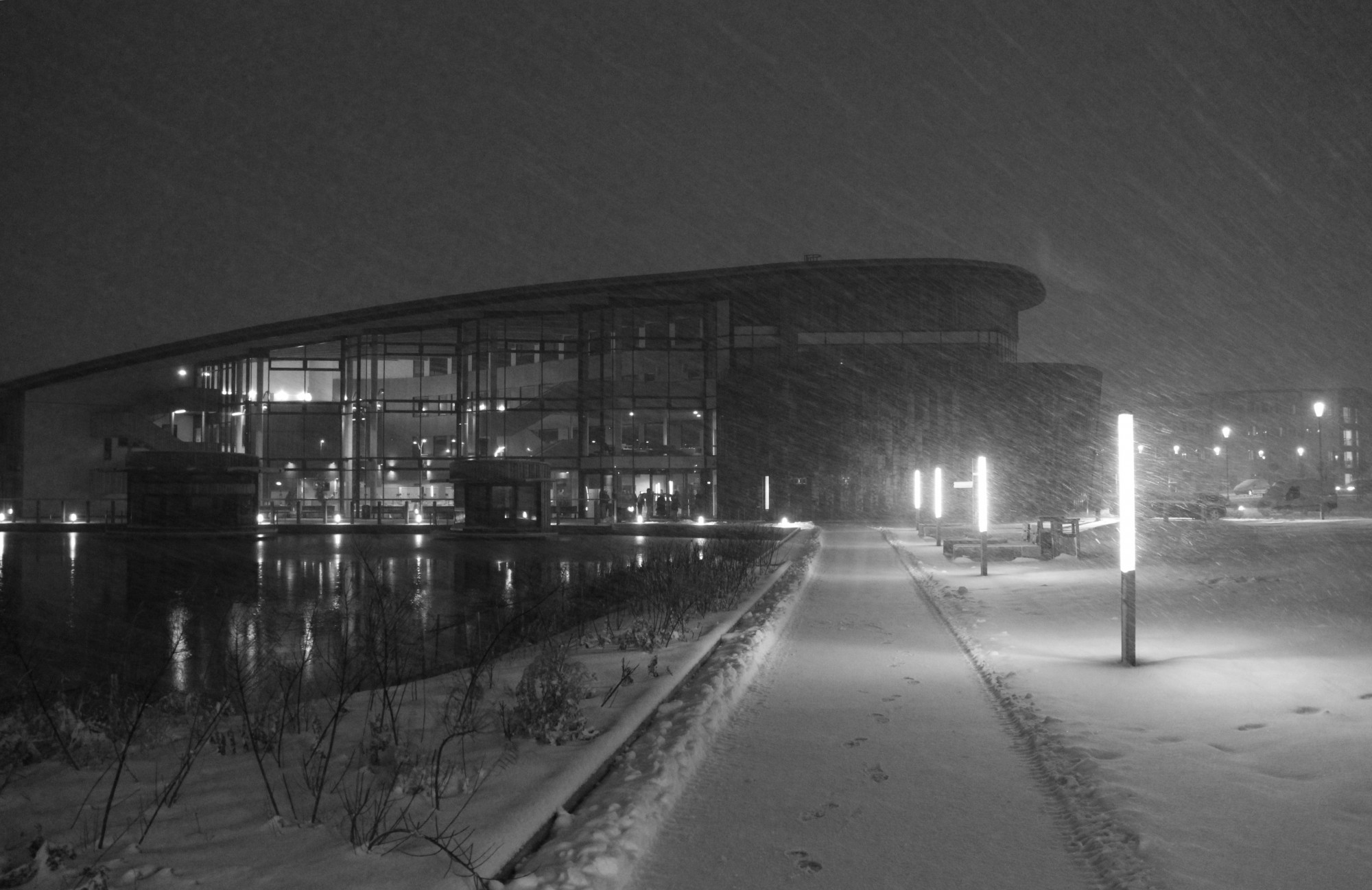 'The Hub' - York - During January's Snow