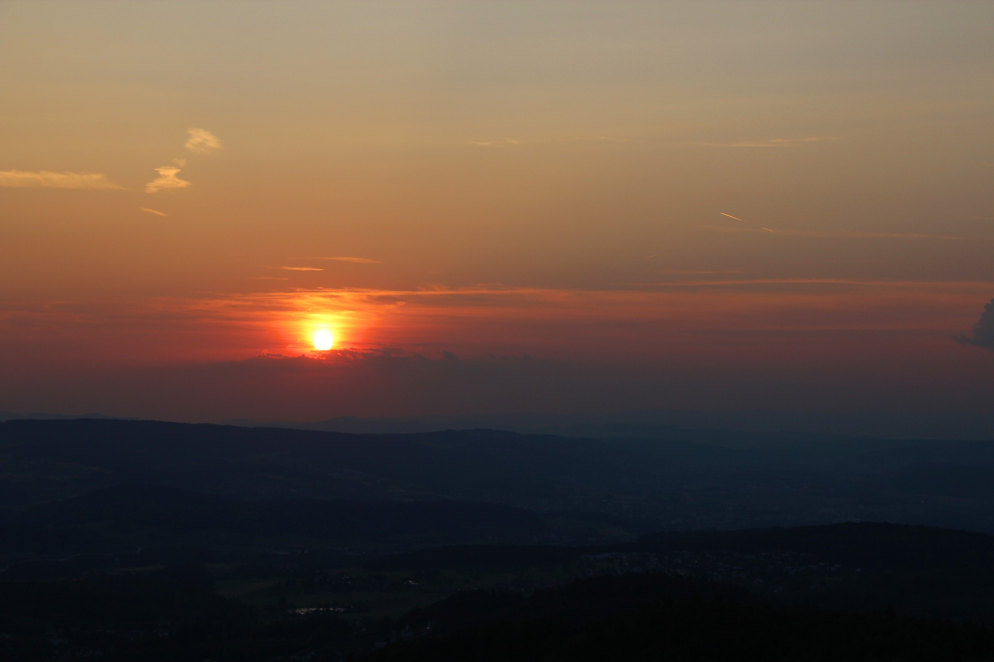 Sunset from Üetliberg