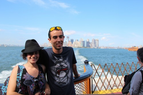 My Sister and I NY, taking whilst on the Staten Island Ferry