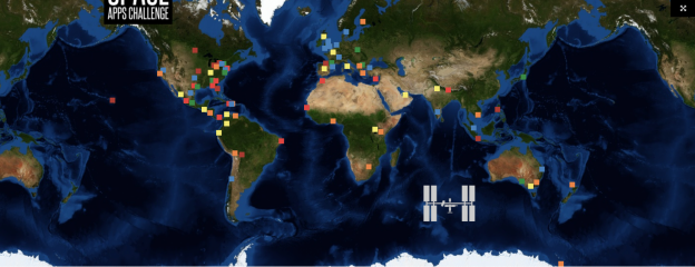 Space Apps 2013 World Wide Locations
