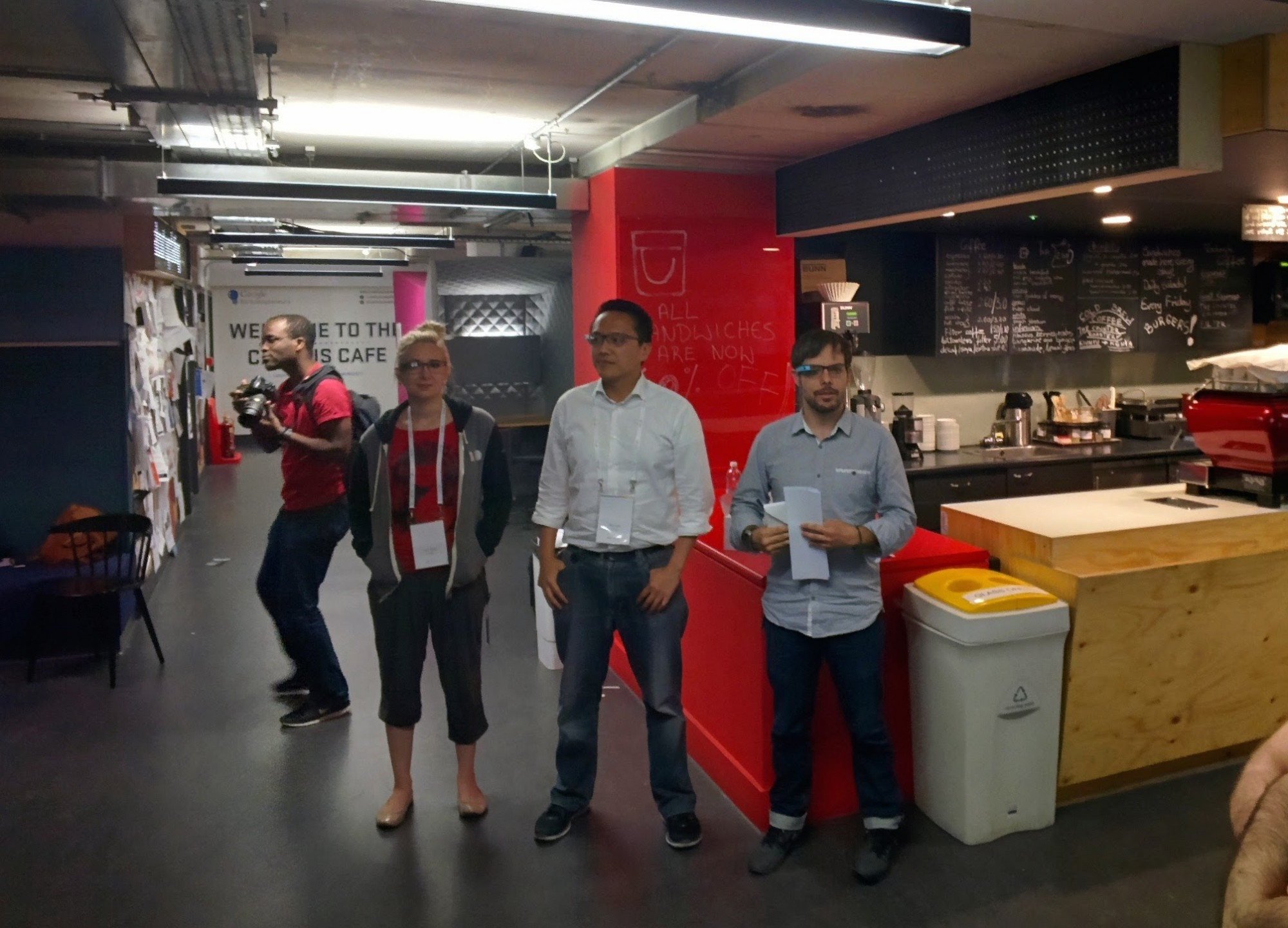 The Glass Hackathon Organising Team
