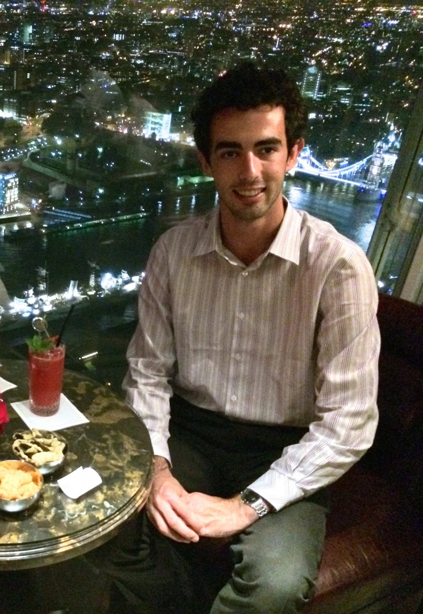 Drinks in GŎNG on the 52nd Floor, The Shard