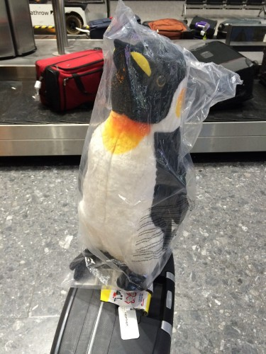 pingWHEN Penguin in the Airport