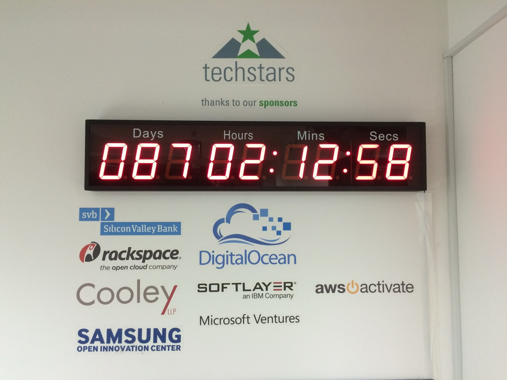 Count down to demo day - 87 days to go!