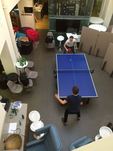 Ping Pong in the Kitchen